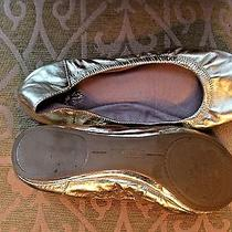 Vince Camuto Gold Slipper Shoes Photo