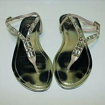 Vince Camuto Jewel Embellished Ankle Strap Sandals Women's 6 Photo