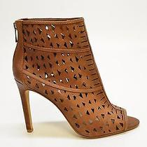 Vince Camuto Kachina Women's Brown Synthetic Heel Booties Size 8.5m A1976d Photo