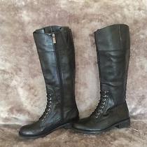 Vince Camuto Kari Black Riding Boots  Size 8.5 Photo