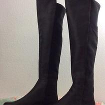 Vince Camuto Karita 5050 Leather  Boots Size 7.5 Black Photo