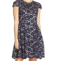 Vince Camuto Lace Fit & Flare Dress  (Size 8) Photo