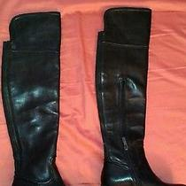 Vince Camuto Leather 'Baldwin' Over the Knee Women's Boot Us Shoe Size 4 Photo