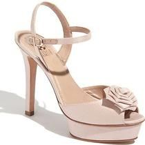 Vince Camuto 'Lively' Sexy Ankle Strap Wedding Bridesmaid Pump Sandal Blush Pink Photo