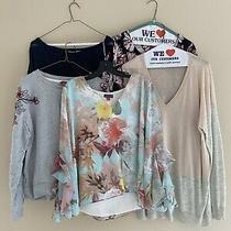 Vince Camuto Lot of 12 Women's Designer Shirt Blouse Sweater Tank Haul Size L Photo