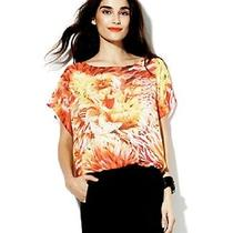 Vince Camuto Luxurious Silky Short Sleeve Blouse(small)nwt99.00  Photo