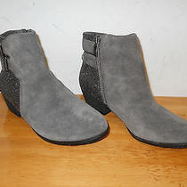 Vince Camuto New Womens Madalline Gray Ankle Boots 6 M Shoes Nwob  Photo