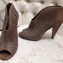 Vince Camuto Open Toe Booties Heels Size 5.5 Us Photo