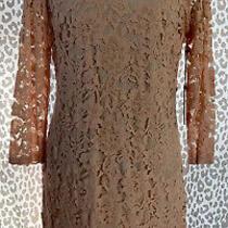 Vince Camuto Pink Blush Lace Dress Size 14 1x Wedding Dress Cocktail Dress Nwt Photo
