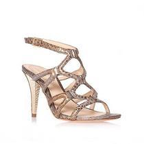 Vince Camuto Signature 'Vogue' Gold Summer Strappy Heels Sandal Sz 7.5 - 224 Photo