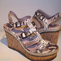 Vince Camuto Size 10 M New Womens Serafina Shoes Sandals Heels  Wedges Neutral  Photo