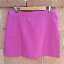 Vince Camuto Size 14  Orchid Purple Pencil Mini Fully Lined Skirt Photo