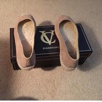 Vince Camuto Suede Slipons Photo