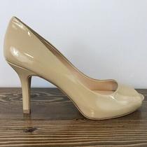 Vince Camuto Vc-Kiley Nude Color Patent Leather Pumps Sz 8 M Photo