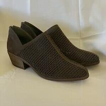 Vince Camuto Vc-Paleta Booties Size 10 Elephant Brown New in Box Photo