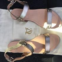 Vince Camuto Vc Signature 'Magnoliah' Leather Sandal  Photo