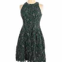 Vince Camuto Women Green Cocktail Dress 2 Photo