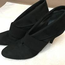 Vince Camuto Women's Black Suede Heels Size 7.5b 37.5b. Photo
