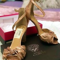 Vince Camuto Women's Carrelen Heel Sandal Beaming Blush Size 8 High Block Photo