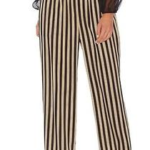 Vince Camuto Women's Pants Black Size Xs Pull-on Stretch Striped 99 040 Photo