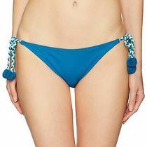 Vince Camuto Women's Swimwear Blue Size Large L Bikini Bottom Braided 79 838 Photo