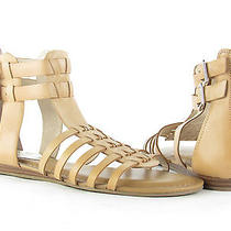 Vince Camuto Women's Sz 7 Tan Leather Gladiator Sandals New Rtl 110 Photo