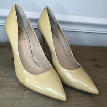 Vince Camuto Women Stilettos Heels Patent Leather Color Beige Size 6.5 Photo
