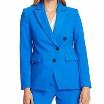 Vince Camuto Womens Blue Blazer Jacket Size 2 Photo
