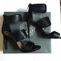Vince Camuto Womens New Black Leather 4 1/4