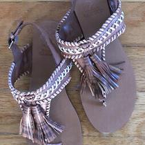 Vince Camuto Womens Rebeka Leather Open Toe Casual Slingback Blush Size 8 M Photo