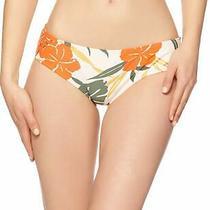 Vince Camuto Womens Swimwear Beige Size Xs  Tropical Bloom Bikini Bottom 58 934 Photo