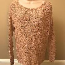 Vince Women's Blush Pink Fuzzy Knit Sweater Size Xs Photo