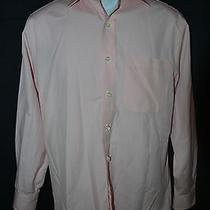 Vineyard Vine Mens 16.5 Button Down Shirt Pink Check  Photo