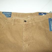 Vineyard Vines 100% Cotton 5 Pocket Corduroy  Pants Nwt 38  X 32 79.50 Tobacco Photo