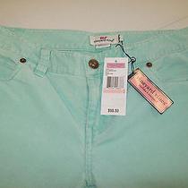 Vineyard Vines 5 Pocket Thin Wale Corduroy Pants in Mint Green Nwt Size 2 98.50 Photo