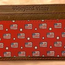 Vineyard Vines American Flag Card Case Photo