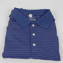 Vineyard Vines Barnes Stripe Golf Polo W/o Moonshine X-Large Photo