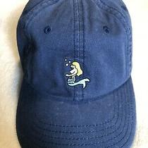 Vineyard Vines Baseball Hat Mermaid Blue Cotton Adjustable New Photo