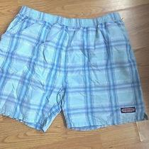 Vineyard Vines Bathing Suit Swim Trunks Mens Blue Size Xl Photo