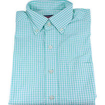Vineyard Vines Baxter Check Murray Shirt Antigua Green Cotton Apparel S New Photo