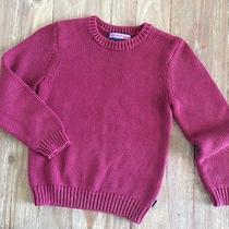 Vineyard Vines Boy's Mulberry Ribbed Crew Neck Sweater- Size 7- Retails 55 Photo