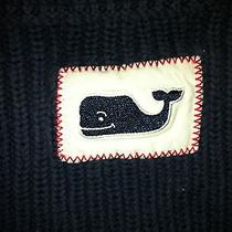 Vineyard Vines Boy's Navy Blue Ribbed Sweater- Size 7- Retails 55 Photo