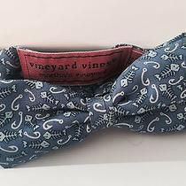 Vineyard Vines Boys Bow Tie Fish and Hook Photo