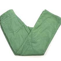 Vineyard Vines Bright Green Corduroy Pants Slacks Casual 34 / 31.5 Excellent Photo