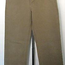 Vineyard Vines Brown 100% Cotton Pants Jeans Size 30x32  Preppy  Photo