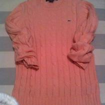 Vineyard Vines Cable Sweater - Light Pink Small Photo