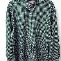 Vineyard Vines Checker Plaid Murray Button Down Shirt Mens Size L Msrp 98.50  Photo
