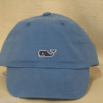 Vineyard Vines Child's Size Blue Whale Baseball Cap/hat With Mini Whale Sticker Photo
