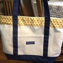 Vineyard Vines Custom  Collection Canvas Tote Photo