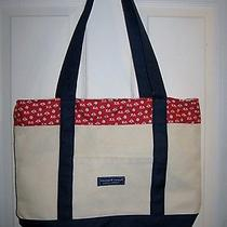 Vineyard Vines Custom Collection Canvas Tote Bag  Photo